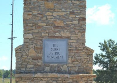 Burnt District Monument Photo