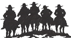 picture of cowboys riding