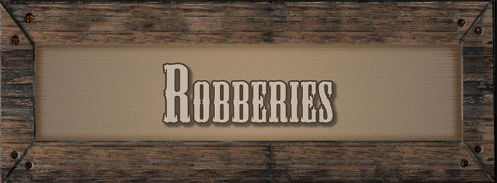 Robberies Banner
