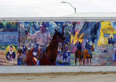 Photo of mural in Nevada, Missouri